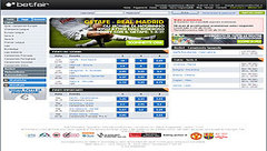 Betfair Screenshot