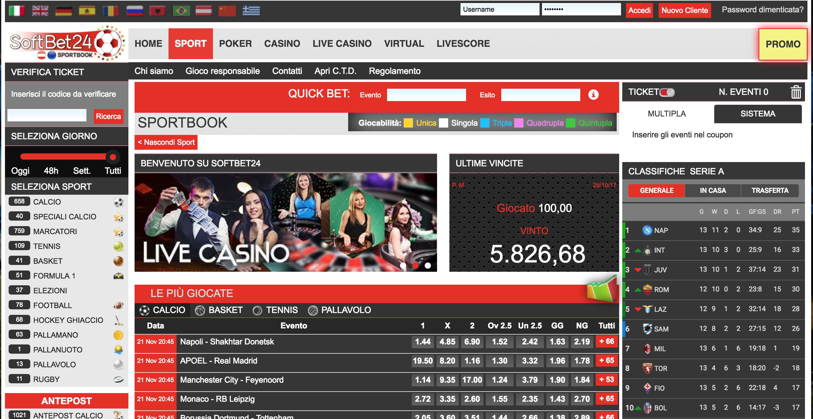 Softbet24 Screenshot