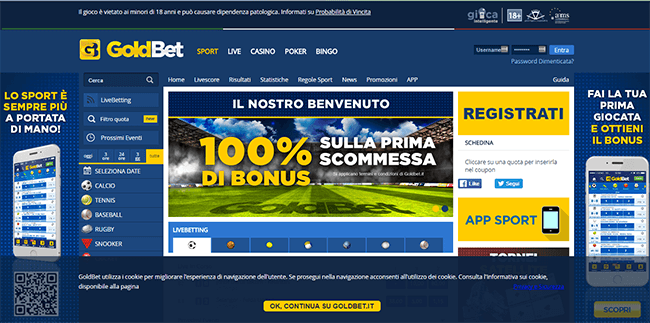 Goldbet Screenshot