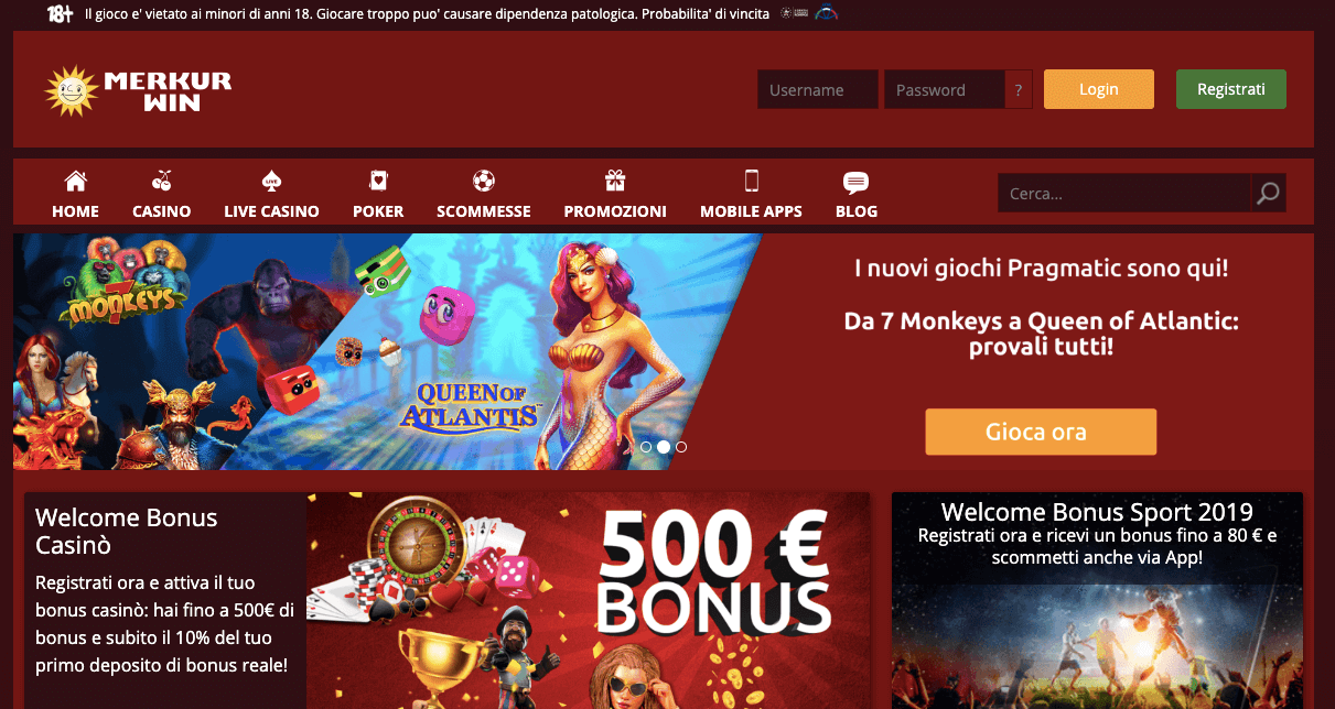 Merkur Win Screenshot