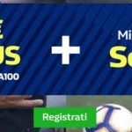 william hill bonus 100€ + top quote serie a