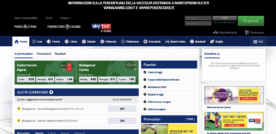 skybet homepage