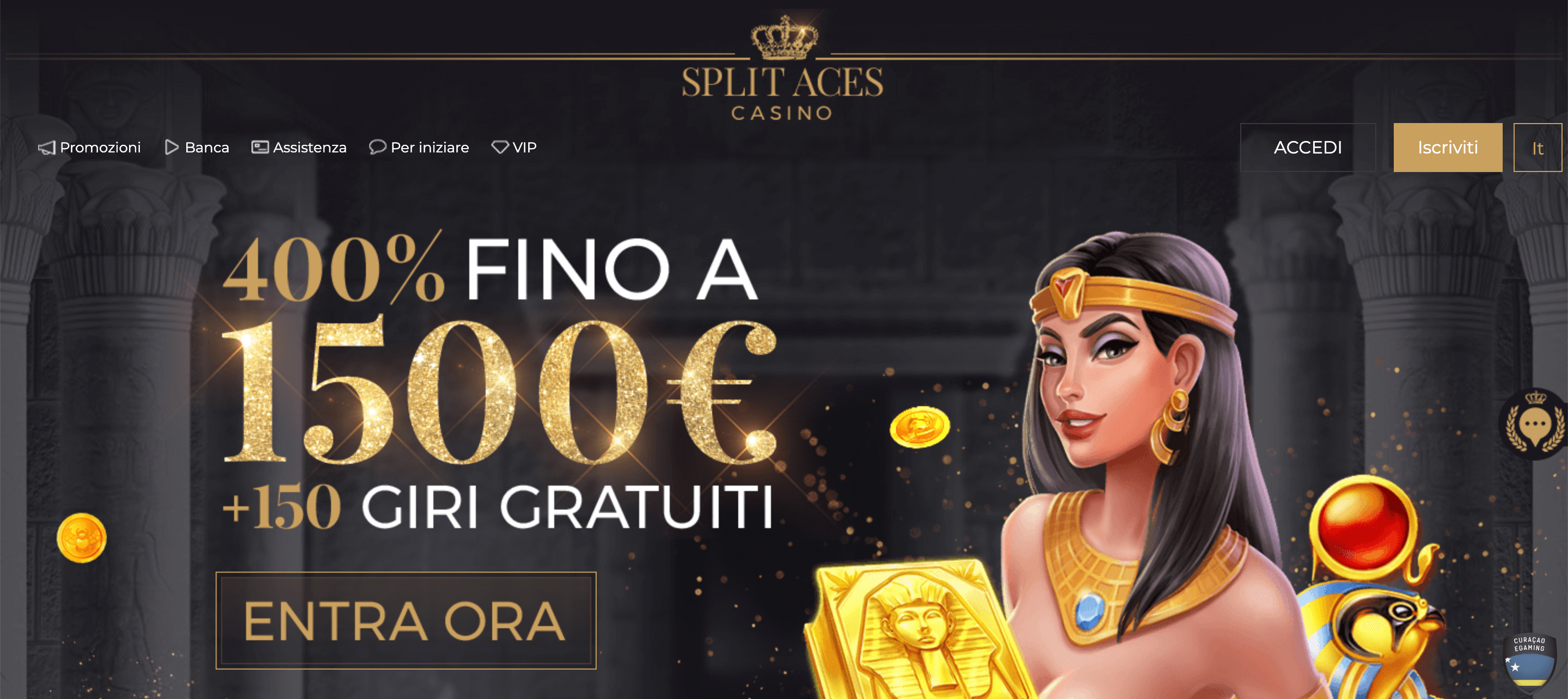Split Aces Casinò Screenshot