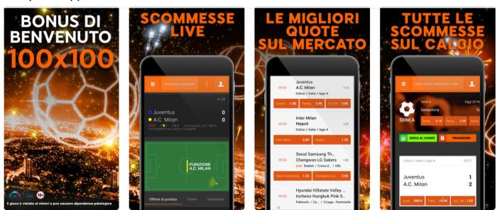 888 sport app scommesse