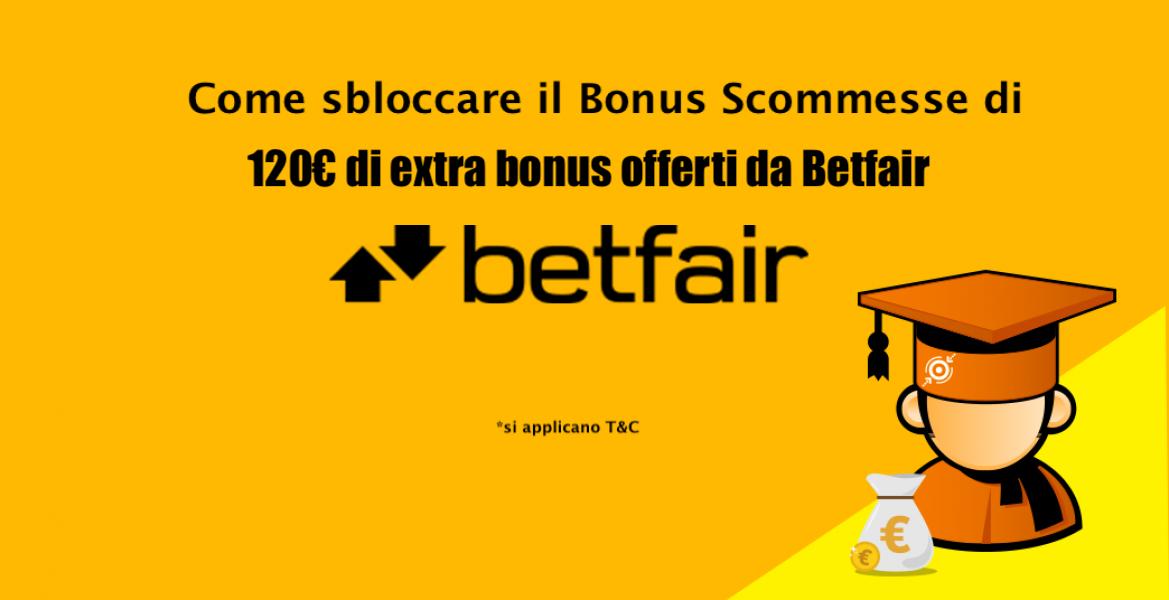 bonus betfair 120 euro