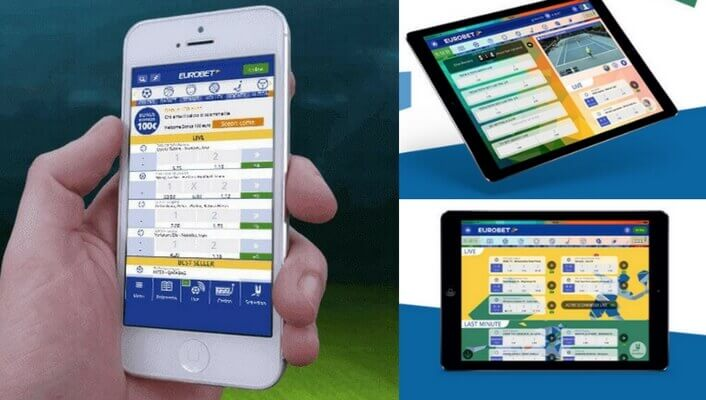 MOBILE APP EUROBET DEVICE