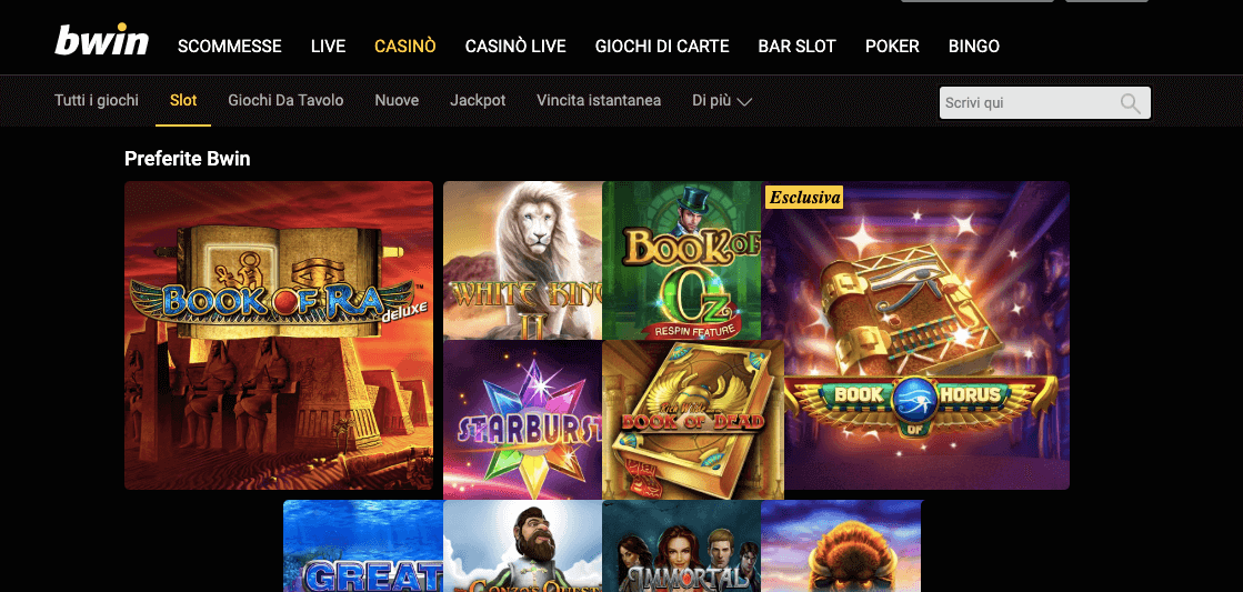 bwin casino slot