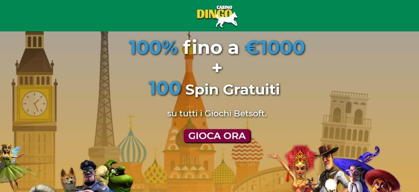 Dingo Casinò Screenshot