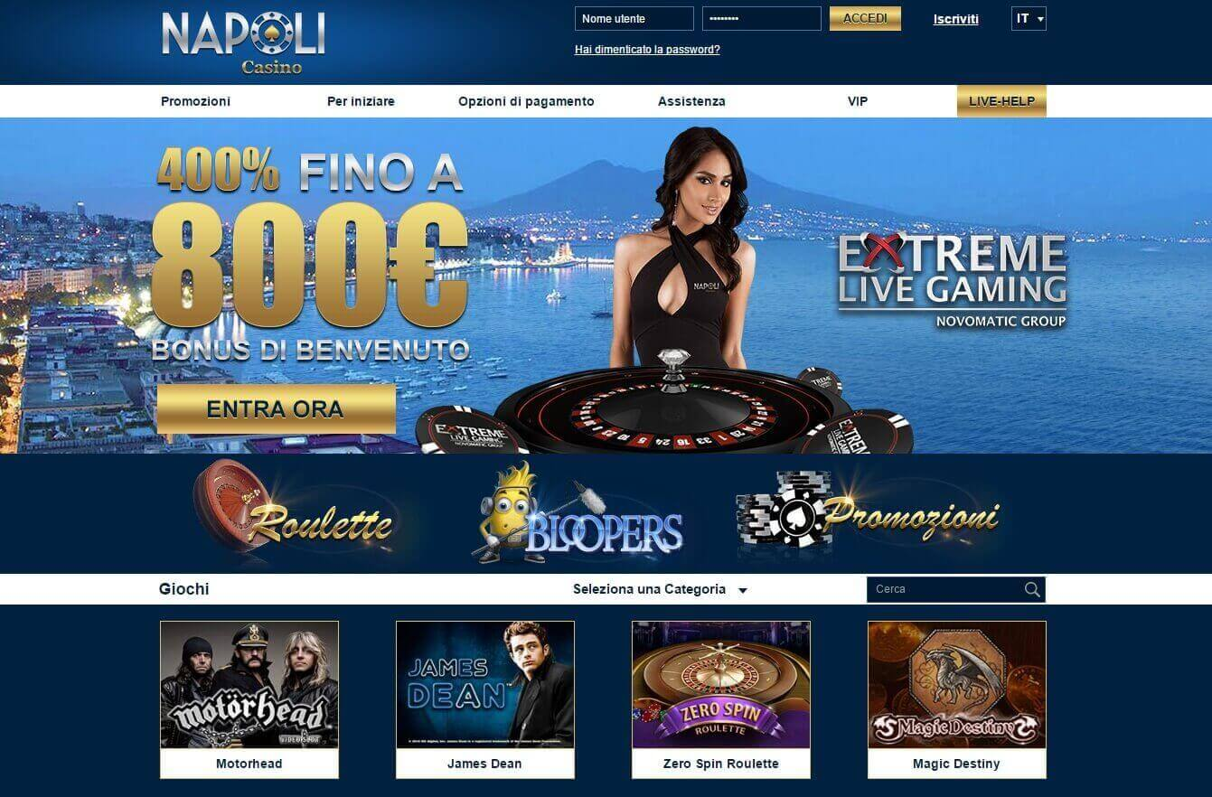 casinonapoli homepage