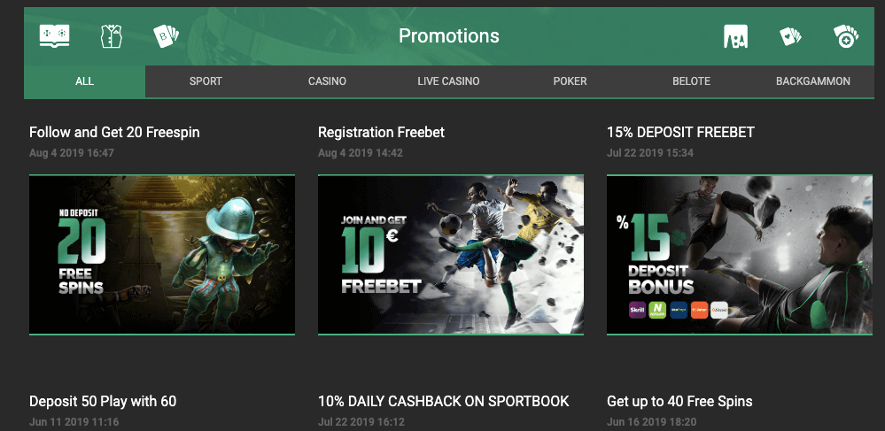 promozioni luckybet