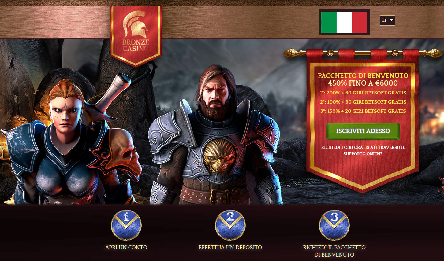 Bronze Casinò Screenshot