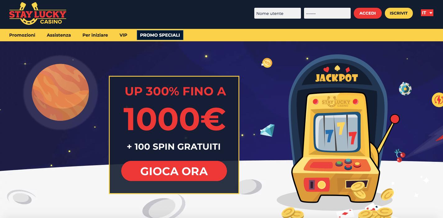 Stay Lucky Casino Screenshot