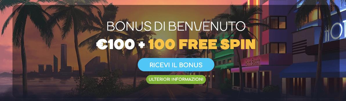 wildtornado bonus benvenuto