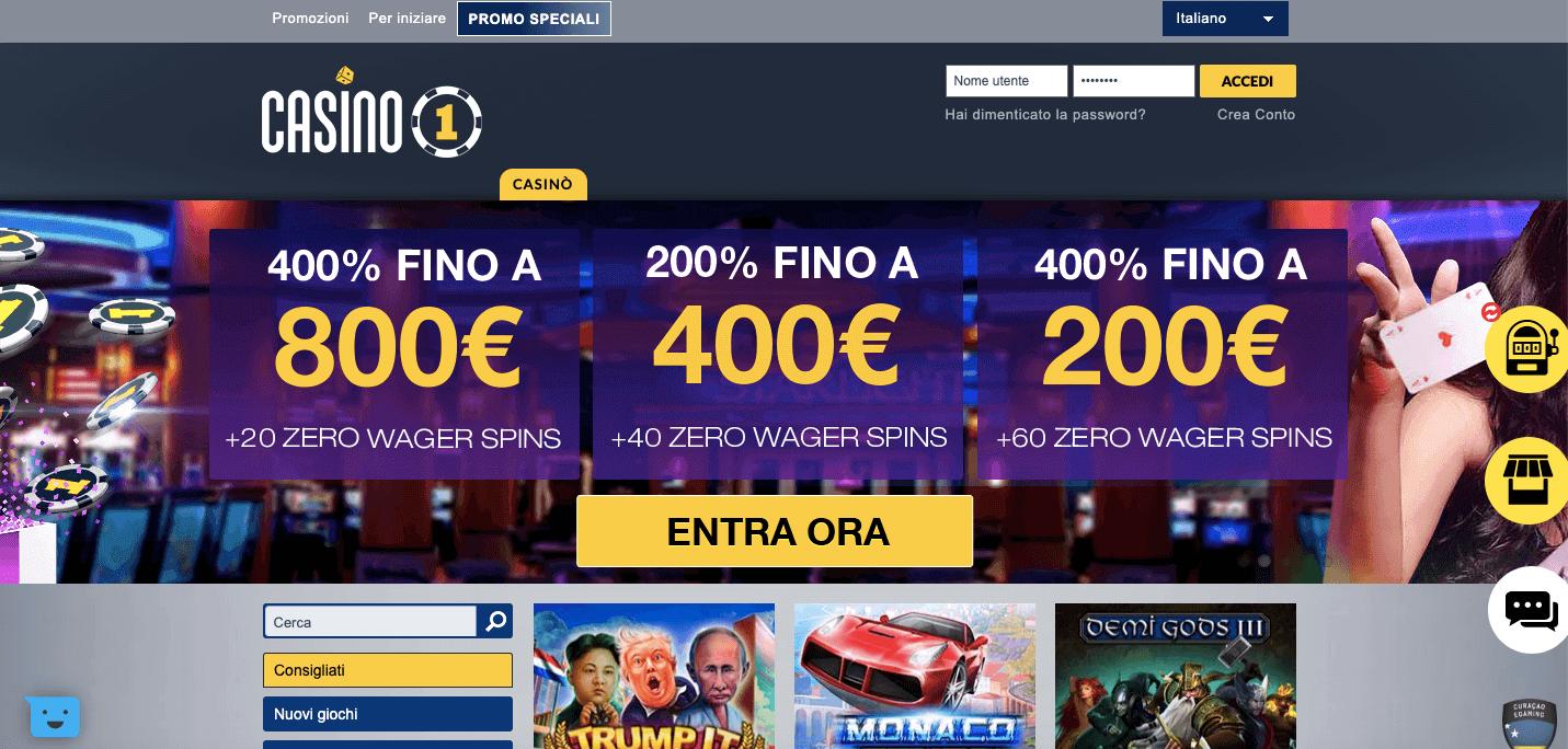 Casino1 Club Screenshot