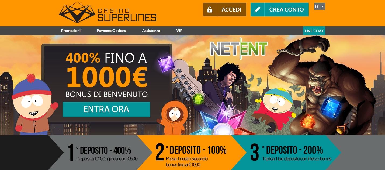 Casino Superlines Screenshot