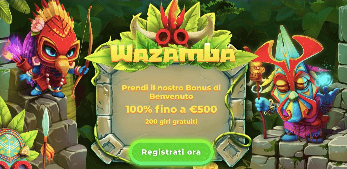 wazamba bonus marzo 2020