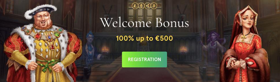 Casiniacasino welcome bonus