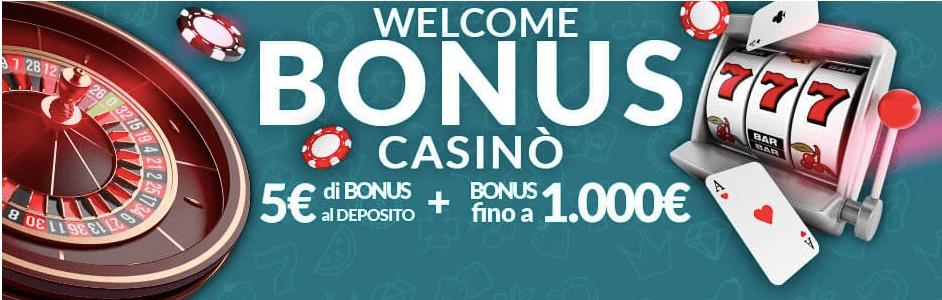 EurobetCasinò welcoome bonus