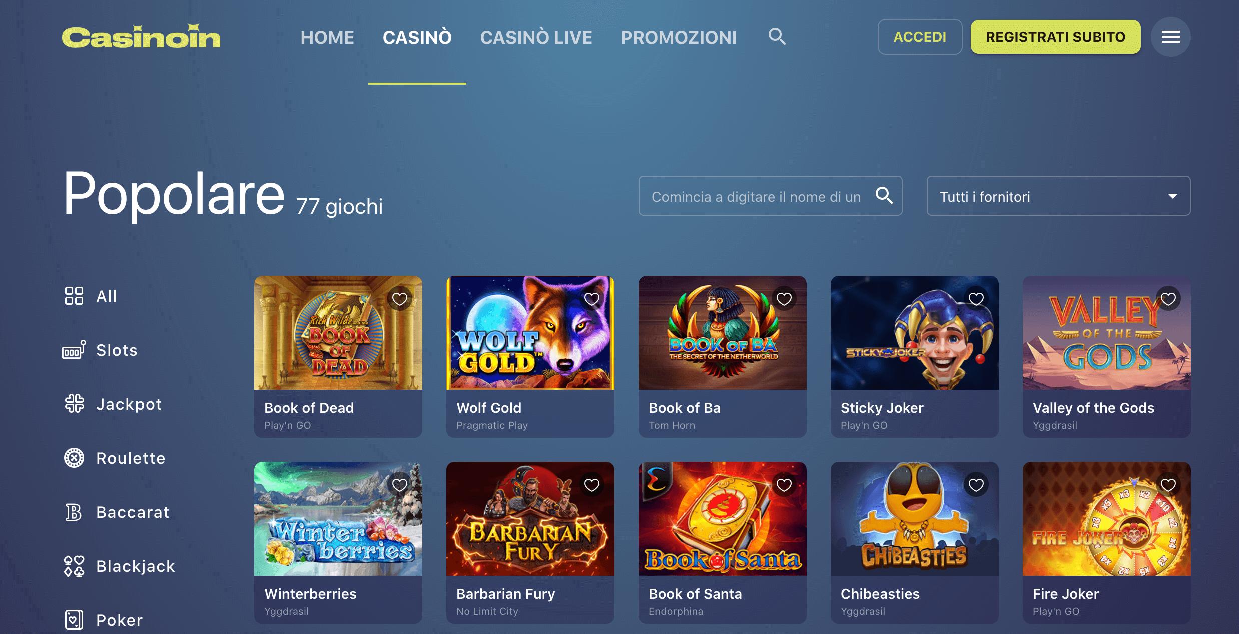 Slot CasinoIn
