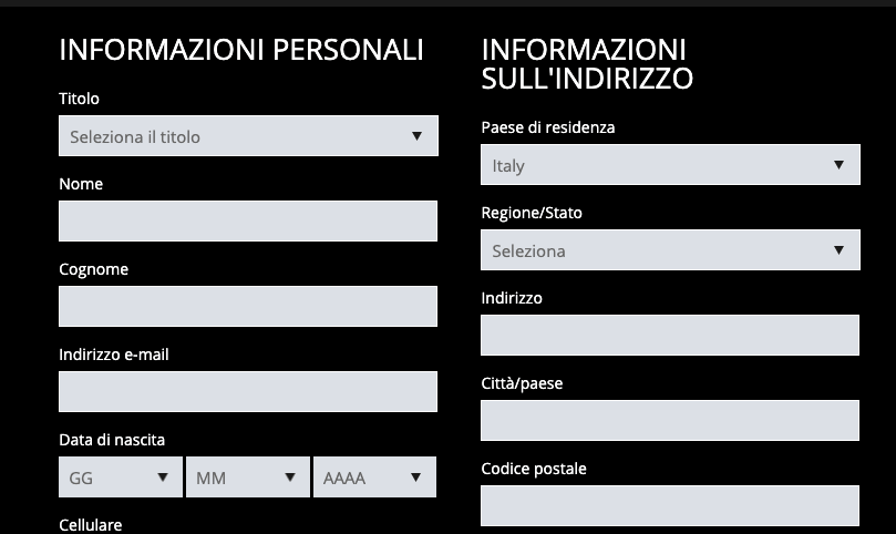 ExclusiveBet registrati
