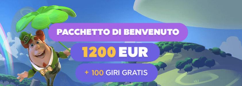 Loki Casinò welcome bonus