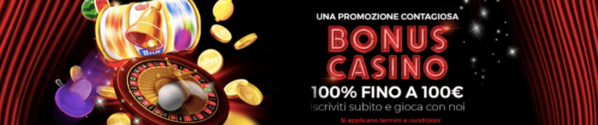 Winbrokes Casinò welcome bonus