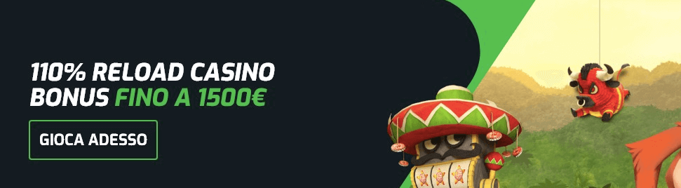 EvoBet Casinò welcome bonus