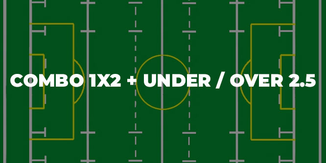 COMBO 1X2 + UNDER OVER