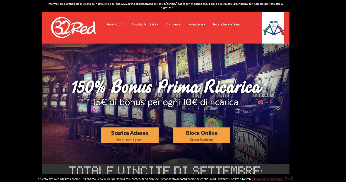 32red casino Screenshot