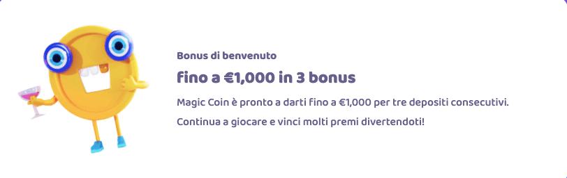 7 Signs Casino Bonus Benvenuto