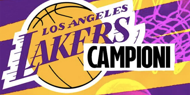 lakers vincono nba