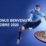 migliori bonus benvenuto ottobre 2020