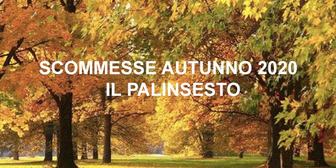 scommesse online autunno 2020