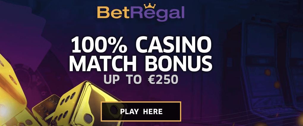 BetRegal Casino Welcome Bonus
