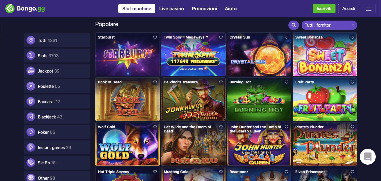Bongo Casino Slot