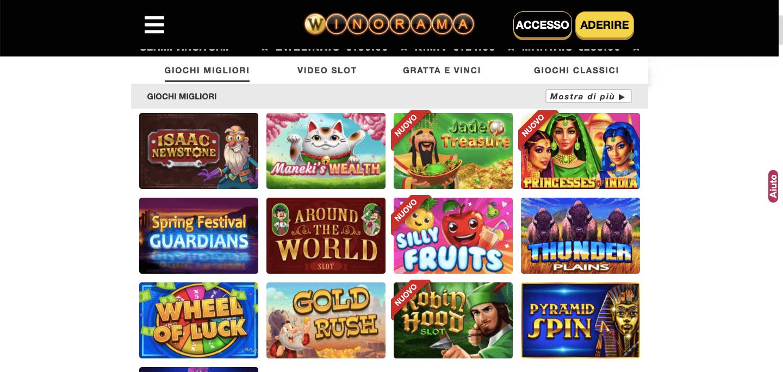 Winorama Casino Slot