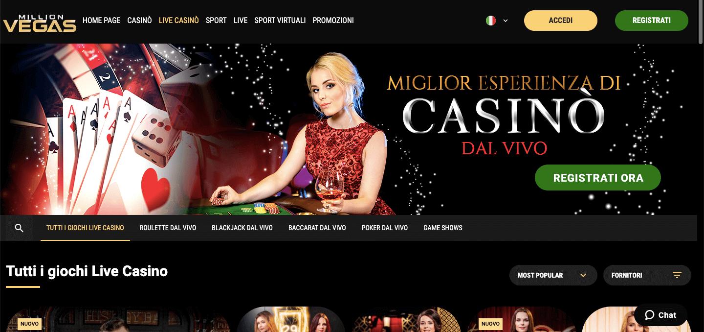 Million Vegas Casino Live