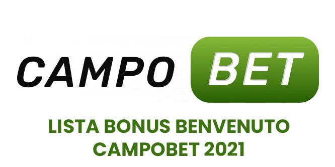 lista bonus benvenuto campobet 2021