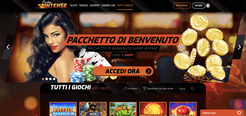 Casino Intense Screenshot