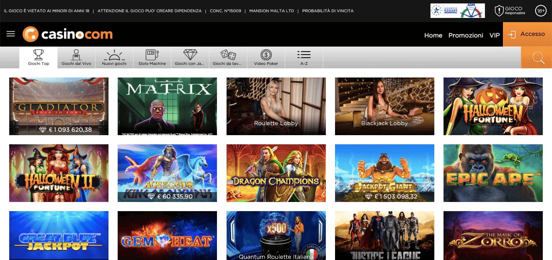 Casino.com Slot