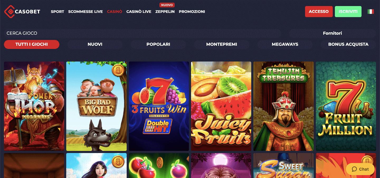 Casobet Casino