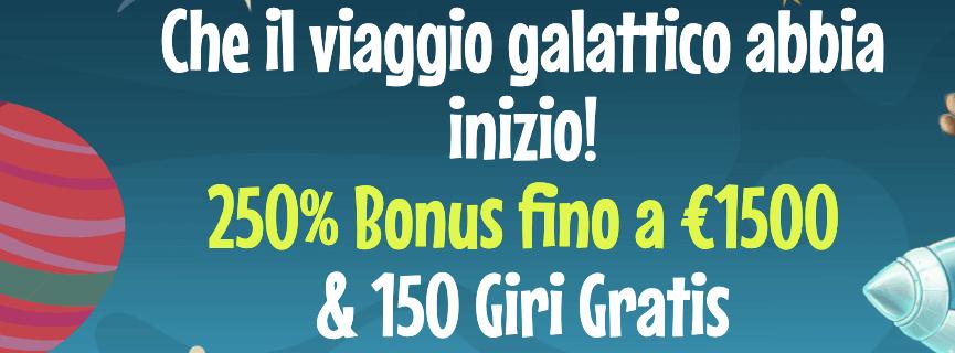 Crazyno Casino Bonus Benvenuto