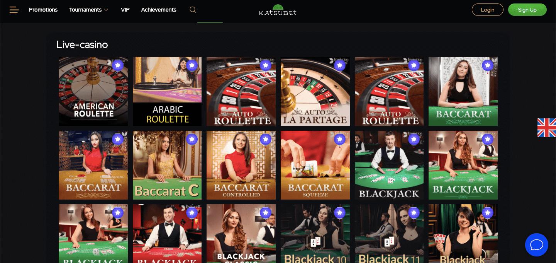 Katsubet Casino Slot Live