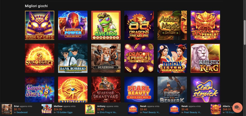 LevelUp Casino Slot