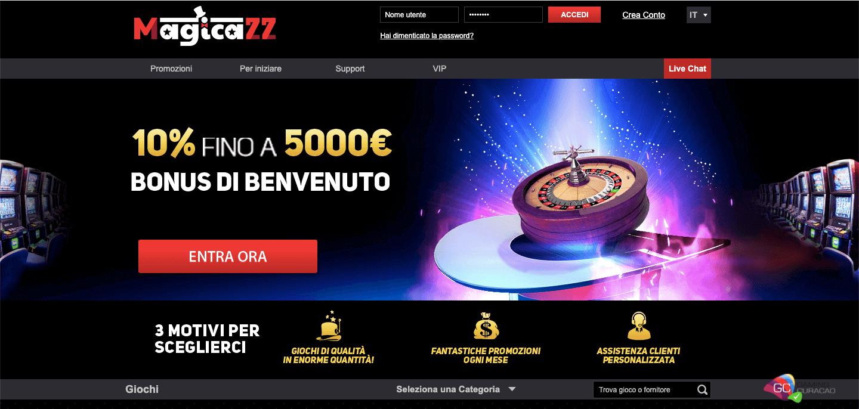 Magicazz Casino Screenshot