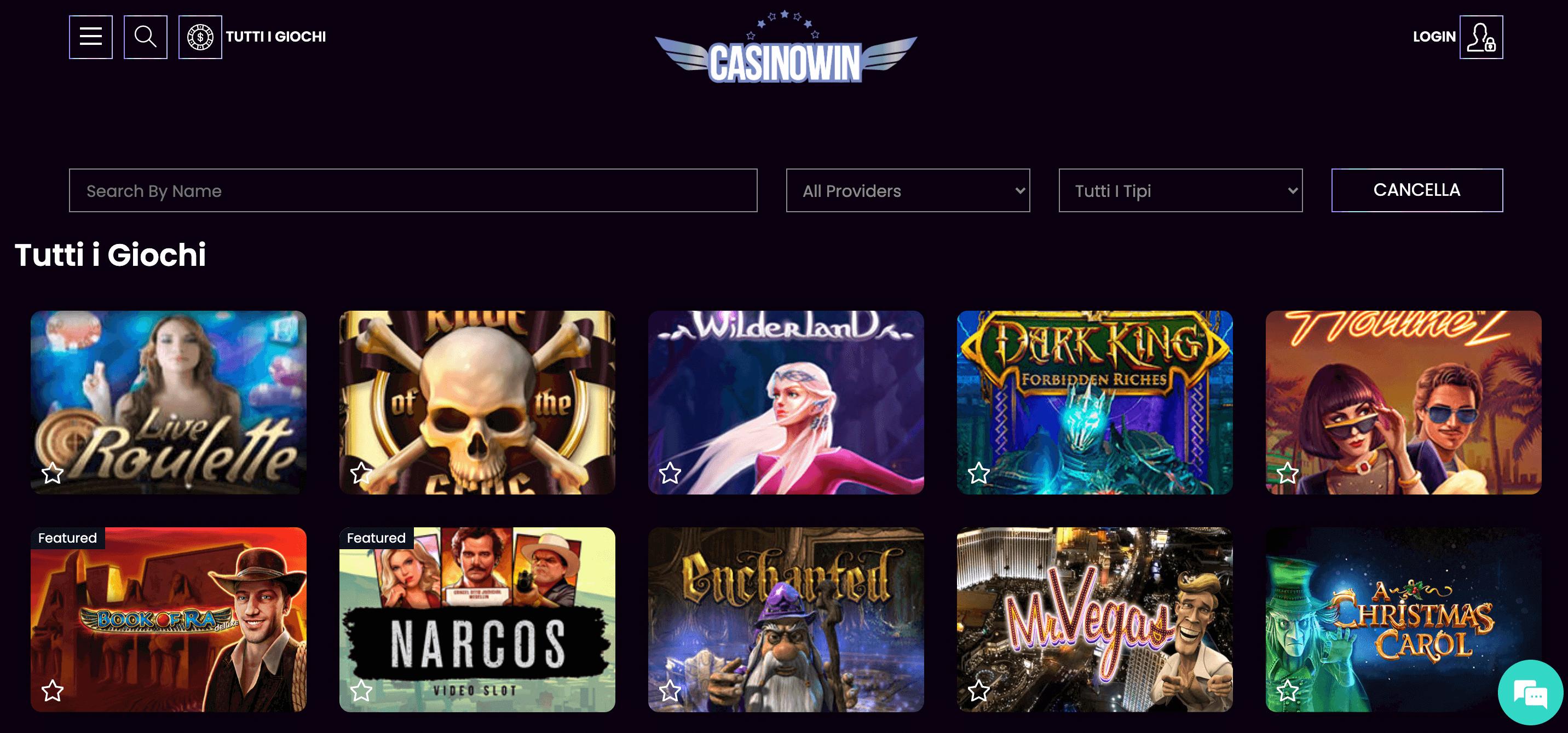 CasinoWin Screenshot