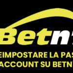 Come reimpostare la password account su Betn1