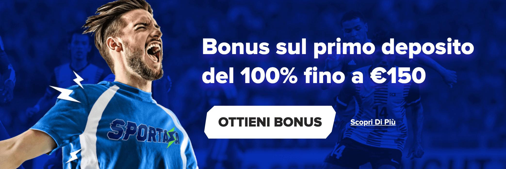 Sportaza Bonus Benvenuto