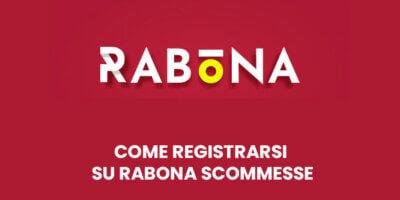 Come registrarsi su Rabona Scommesse