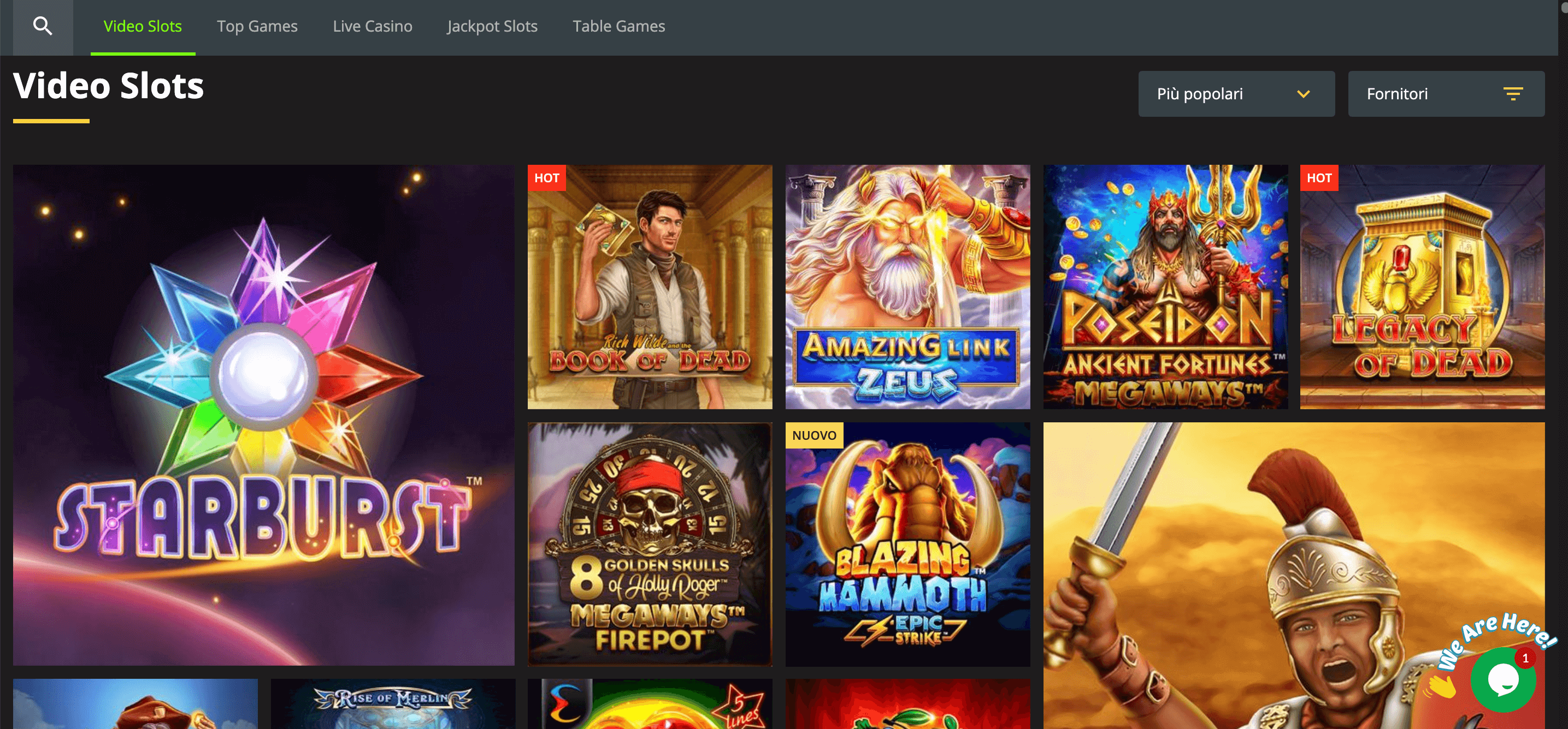 Weltbet Casino Slot